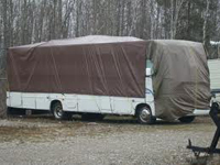 RV in storage